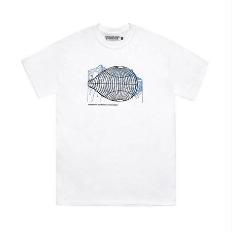 DREAMLAND SYNDICATE GLOBE T-SHIRTS WHITE