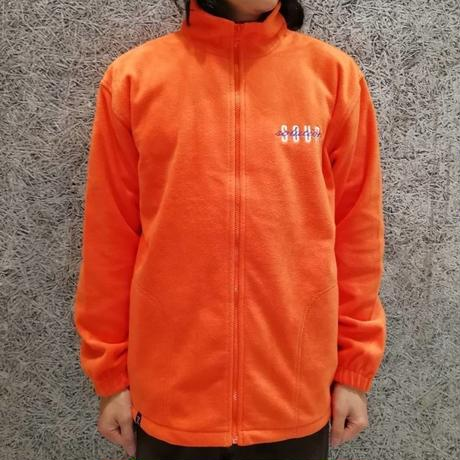 SOUR  SPOTHUNTER  FULL  ZIP FLEECE JACKET ORANGE