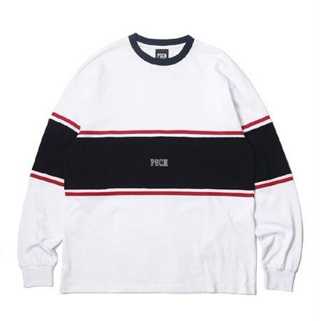 PSCN LINE LS T-SHIRT WHITE