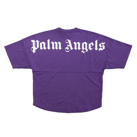 PALM  ANGELS  LOGO OVER SS  TEE PURPLE