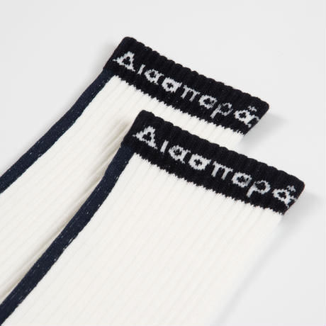 DIASPORA SKATEBOARDS INTERNATIONAL SOCKS WHITE