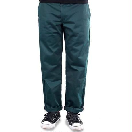 THEORIES STAMP WORK PANT SCARAB GREEN