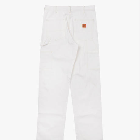 VICTORIA DOUBLE KNEE WORK PANTS WHITE