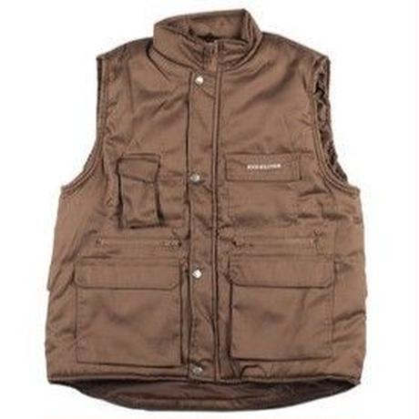 SOUR  CITY SAFARI VEST CHOCOLATE