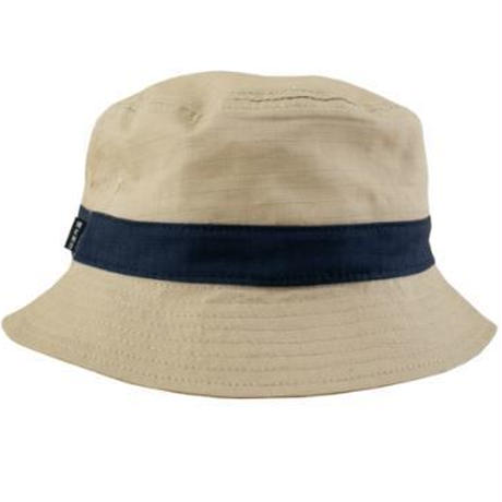WKND BUCKET HAT KHAKI/NAVY
