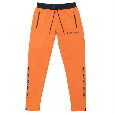PALM  ANGELS  × UNDER ARMOUR SLIM JOGGINGPANTS ORANGE