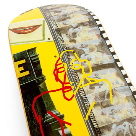 WKND SKATEBOARDS DEATH DANCE ALEX SCHMIDT  DECK