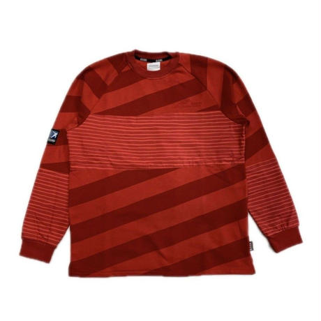 NAPA  BY MARTINE ROSE B-GUINA CREW SWEAT  RED