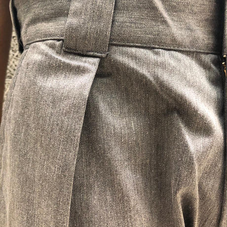 COWDEN ONE TUCK TROUSER GREY