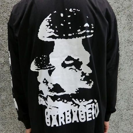GARBAGE_TV MAYBE YOU DID THIS L/S TEE BLACK