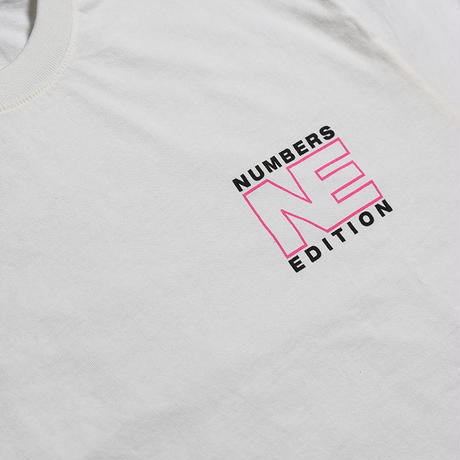 NUMBERS EDITION N.E. PLANET  L/S T-SHIRT