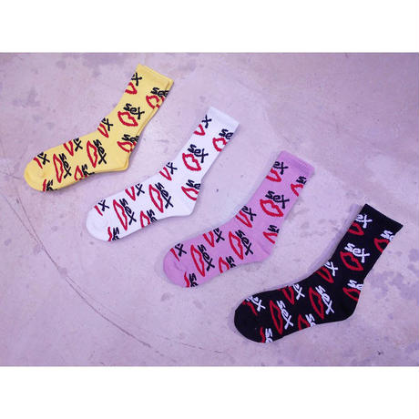 SEX SKATEBOARDS AOP SOCKS