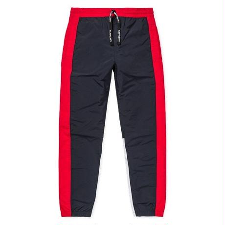 CARHARTT WIP TERRACE PANTS NAVY / CARDINAL / WHITE