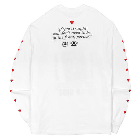 RICHARDSON QUEEN LONGSLEEVE WHITE