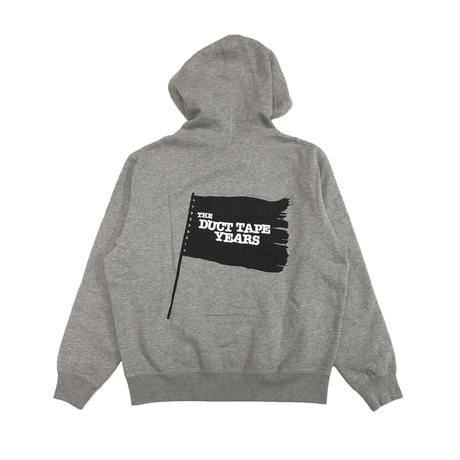 THE DUCT TAPE YEARS    BLACK  FLAG   PULLOVER   GREY