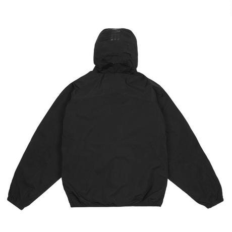 DIME PULLOVER HOODED SHELL BLACK
