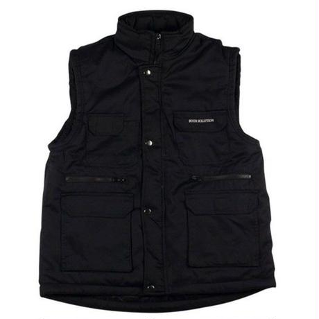 SOUR  CITY SAFARI VEST BLACK