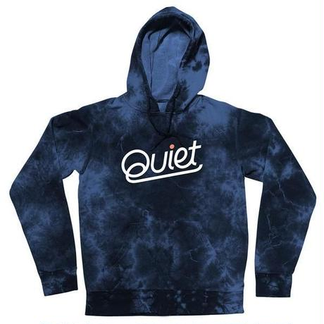 THE QUIET LIFE QUIET PULLOVER HOOD NYLIGHTINGWASH