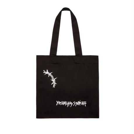 DREAMLAND SYNDICATE TRANSCRIPTION TOTE BAG BLACK