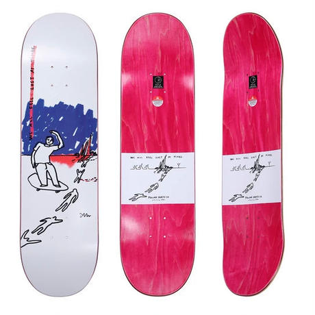 POLAR SKATE CO.  WE ALL FEEL LOST AT ALL TIMES TEAM DECK 8.125