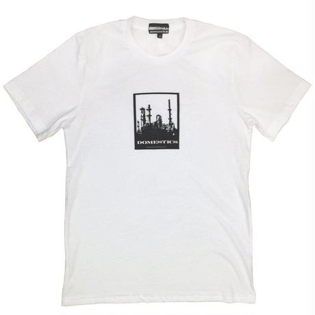 DOMESTICS CLOTHING FACTORY TEE WHITE