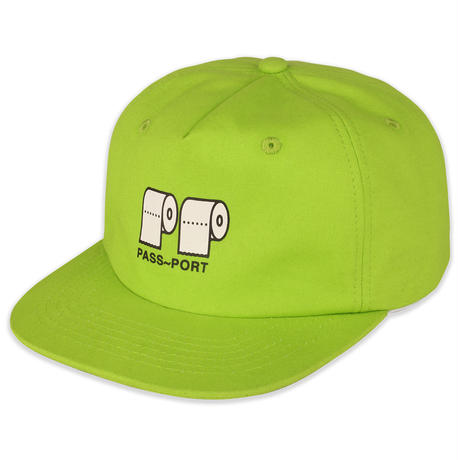 PASS~PORT  POO POO 5 PANEL CAP LIME