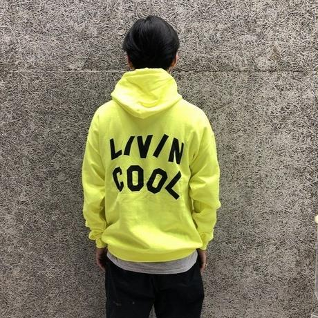 LIVINCOOL SAFETY GREEN HOODIE