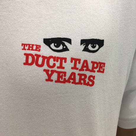 THE DUCT TAPE YEARS  SIOUXSIE  T-SHIRT  WHITE