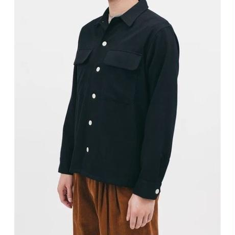 MAIDEN NOIR  BOXY LS SHIRT MIDNIGHT