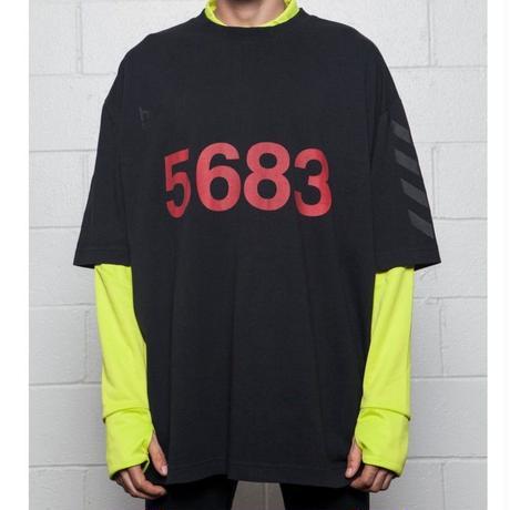 WILLY CHAVARRIA × HUMMEL SS BUFFALO T - BLACK 5683