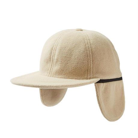 EVISEN SKATEBOARDS FLEECE FLAP CAP BEIGE