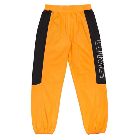 DIME POLAR FLEECE TRACK PANTS GOLD & BLACK