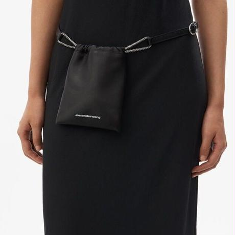 ALEXANDER WANG  RYAN BELT BAG BLACK