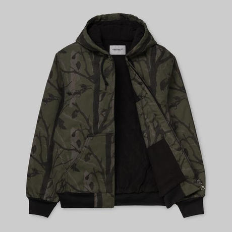 CARHARTT W.I.P ACTIVE JACKET CAMO TREE GREEN