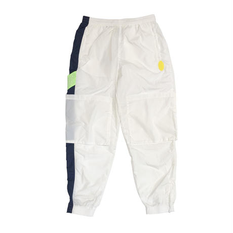 P.A.M  SPACE IN SPACE TRACK PANT  WHITE/NAVY/GREEN