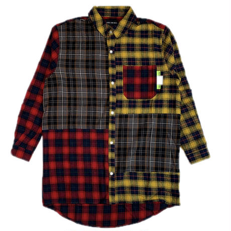 P.A.M  ARIAL CANOPY CHECKED PANEL SHIRT
