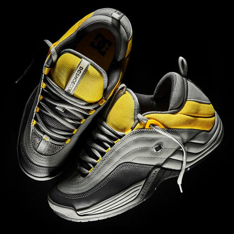 DC SHOES WILLIAMS OG   GREY / YELLOW