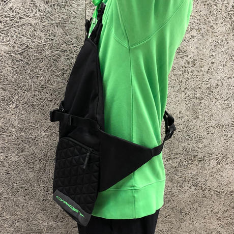 OAKLEY × SLAM JAM  BODY BAG VEST BAG BLACK