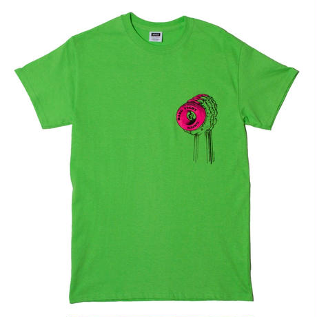 MN07 HANG TIGHT SS TEE GREEN