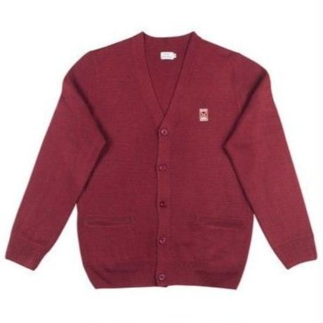SOUR JAZZ CARDIGAN BURGUNDY
