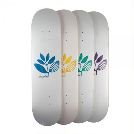 MAGENTA SKATEBOARDS TEAM WOOD DECK GREEN/PINK