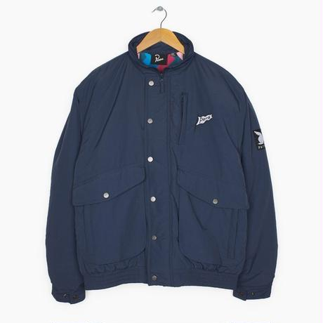 BY PARRA NYLON JACKET FLAPPING FRAG NAVY BLUE