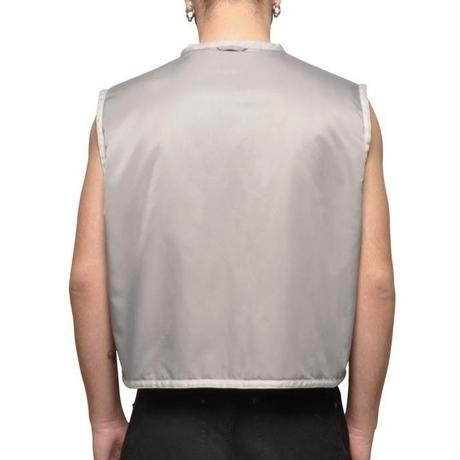 032C COSMIC WORKSHOP ROCK BOTTOM VEST SILVER