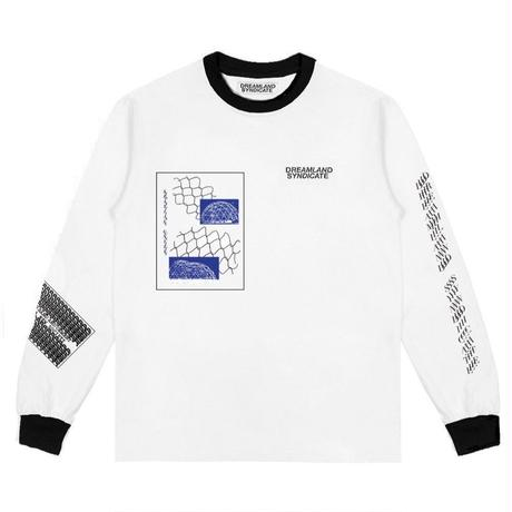DREAMLAND SYNDICATE SPATIAL UNITY LONGSLEEVE WHITE
