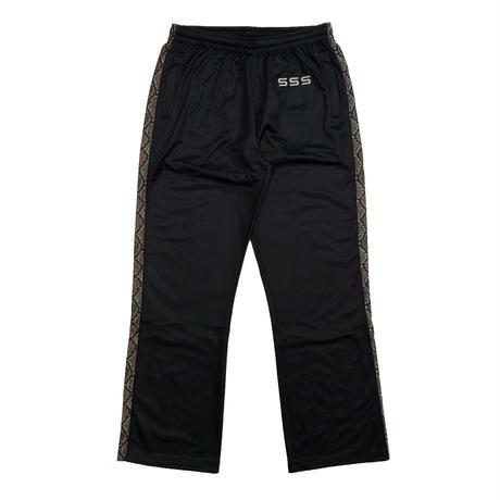 SSS WORLD CORP TRACKSUIT PANTS BLACK