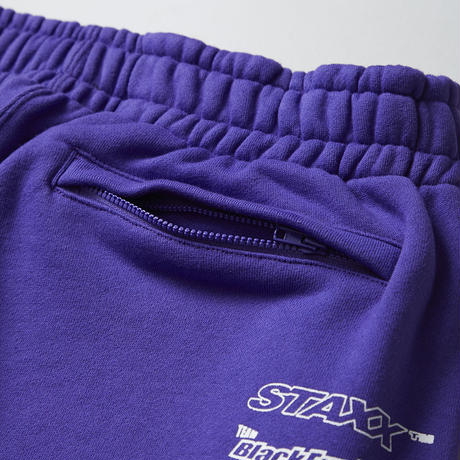 BLACK EYE PATCH RACING SWEAT PANTS PURPLE