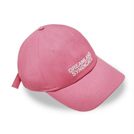 DREAMLAND SYNDICATE CORE LOGO CAP PINK