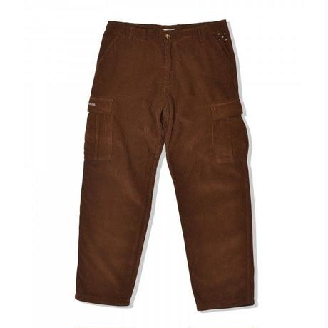 POP TRADING COMPANY  CARGO PANT BROWN CORDUROY