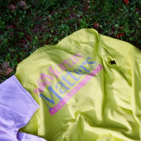 CIVILIST  ×  MORTAR   MATTERS  L/S TEE  YELLOW