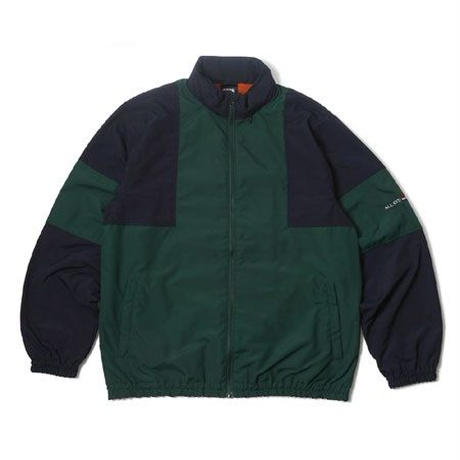 PSCN ZIP TRACK JACKET GREEN